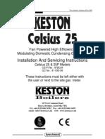 Celsius 25 Manual