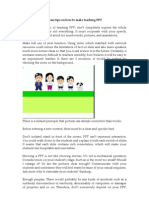 Some Tips on How to Make Teaching PPT