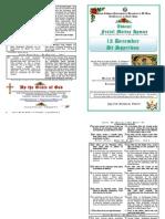 FESTAL MATINS HYMNS - 12 DECEMBER 2012 - ST SPYRIDON
