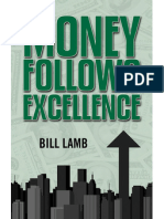 Money Follows Excellence, by Bill Lamb (Excerpt, Chapter 2)