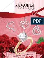 Samuels Jewelers Valentine's Day Catalog