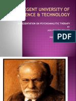 Psychoanalytic Therapy Presentation New