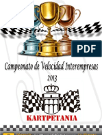 CAMPEONATO INTEREMPRESAS