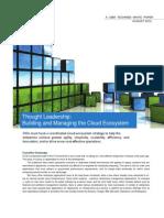 Building Managing Cloud Ecosystem 1