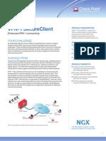 VPN-1 Clients Datasheet