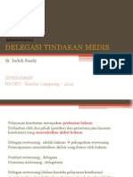 Portofolio 4 - Delegasi Tindakan Medis