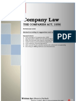 Companies Act, 1956 in short