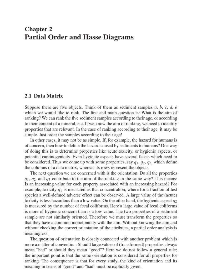 Hasse Diagram Matrix Mathematics Maxima And Minima