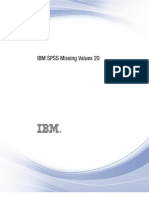 SPSS-missing value analysis
