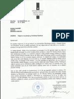 odgovor podpredsednika sodišča z dne 15.11.2012