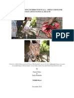 Bird poisoning in Bunyala - implications for human and environmental Health