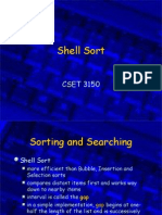 Shell Sort--Sorting techniques