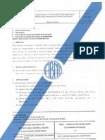 NBR 6457 PREPARAÇÃO DAS AMOSTRAS