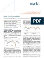 EuroZone Flash PMI Nov2012