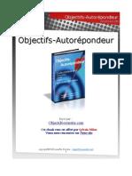 Objectifs Autorepondeur Cyber