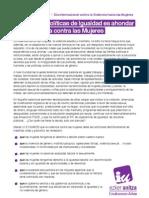 Manifiesto 25N Euskadi