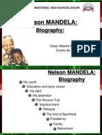 Nelson Mandela Biografy
