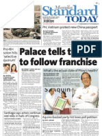Manila Standard Today - Friday (November 23, 2012 ) Issue