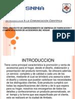 Introducción a la Comunicación Científica