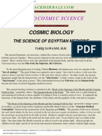 Cosmic Biology Science of Egyptian Medicine