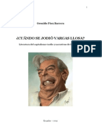 CUÁNDO SE JODIÓ VARGAS LLOSA - Literatura del capitalismo tardío y narrativas de la multitud
