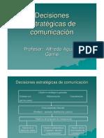 Decisiones estrategicas de comunicación