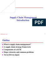 An Overview on Supply Chain Management