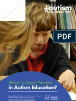 Autism_good Practice Report in Education