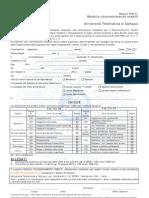 Modulo Riconoscimento Crediti e Allegati