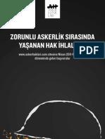 Asker Hakları Raporu - Zorunlu Askerlik Sırasında Yaşanan Hak İhlalleri