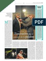 Zambayonny y Moretti en Diario Perfil (11/11/2012)