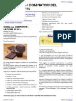 Guida al Computer - Lezione 75 - La Posta Elettronica Parte 2