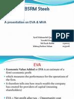 EVA & MVA Calculation of BSRM Steels