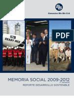 Memoria Social 2009 - 2012 1er Semestre