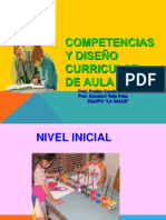III COMPETENCIAS Y DISEÑO CURRICULAR DE AULA