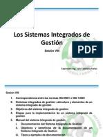 Sesion VIII Sistemas Integrados