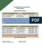 Programacion Finales Cemex-Inderbu