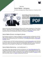 100824 12-11-06 Social Media Lehrgang Online Oder Als Praesenz-Seminar