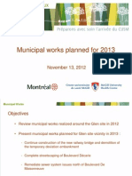 Ville Montreal Muhc Nov 2012