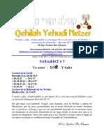 Parashat Ve Yetze # 7 Adul 6012