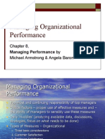 8th Chapter Managing Organizational Performance