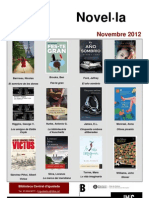 Novel·la novembre 2012