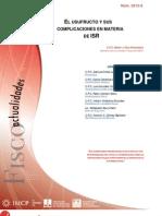 FISCO. May 12. Usufructo Complicaciones ISR