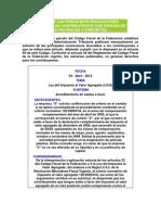 IMPC. Estracto Resoluciones Favorables