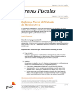 PWC. Reforma Fiscal 2012 Edo. Mex.