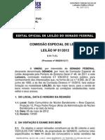 Edital Oficial de Leilao Senado Federal v2