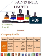 Asian Paints I Ltd
