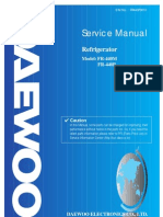 Daewoo FR440 user manual