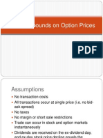 Arbitrage Bounds on Option Prices