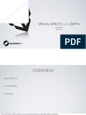 Siggraph2011_SpecialEffectsWithDepth_WithNotes | Shader